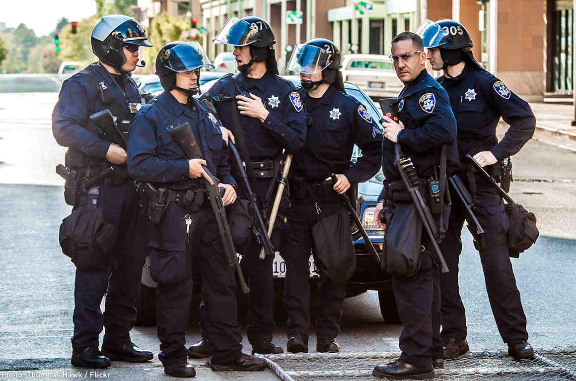 Retired Police Major: Police Militarization Endangers Public Safety