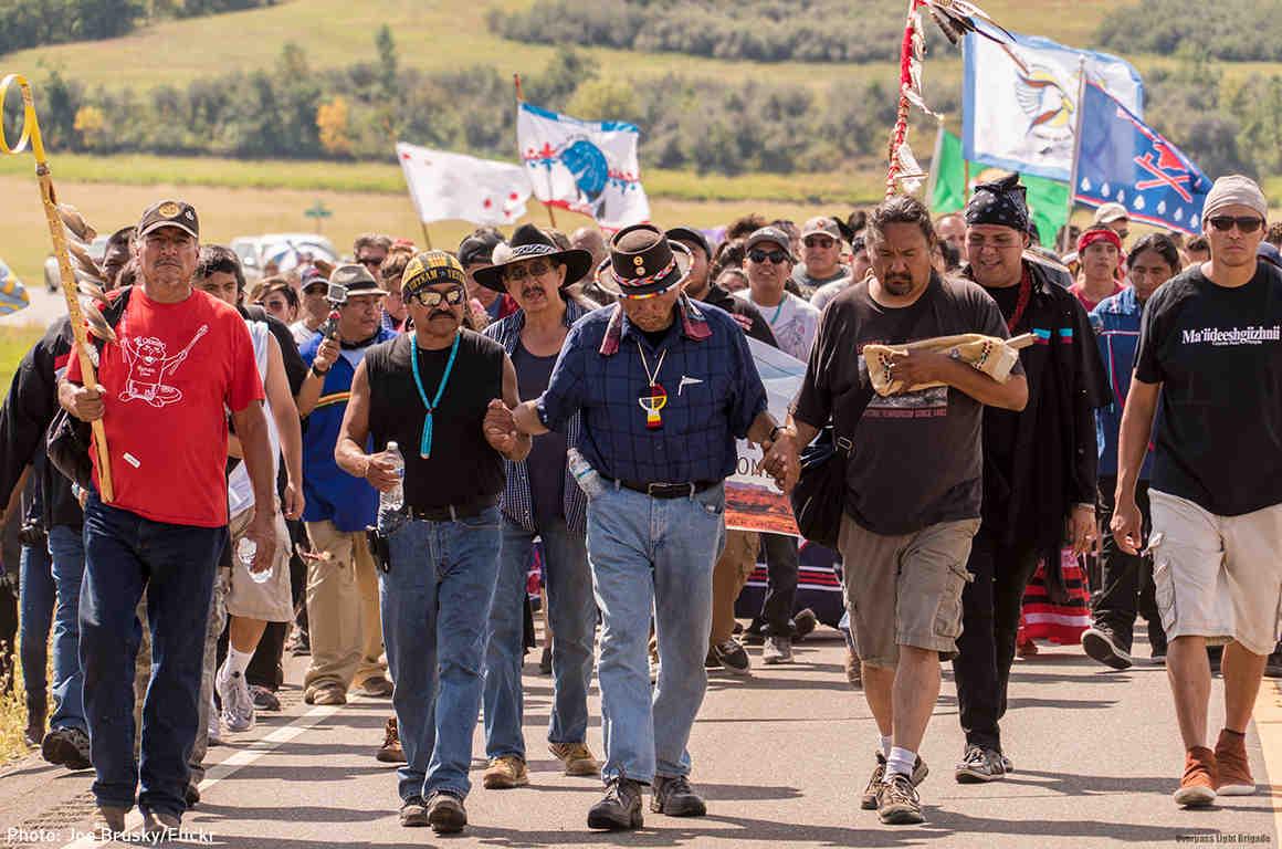 Standing Rock activists