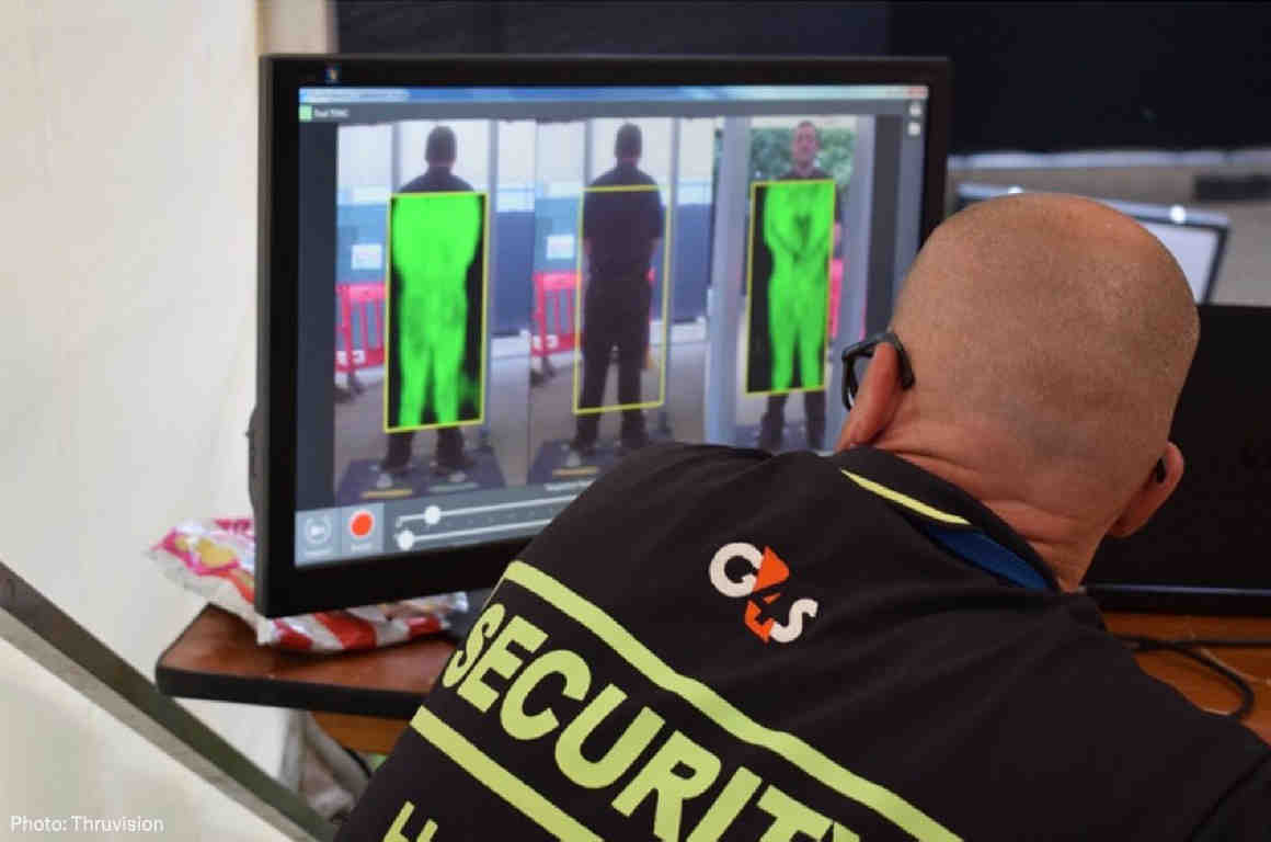 TSA Tests See-Through Scanners on Public in New York's Penn
