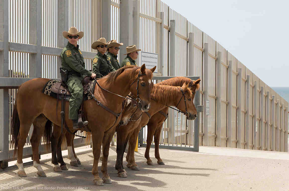 CBP Officers at the border