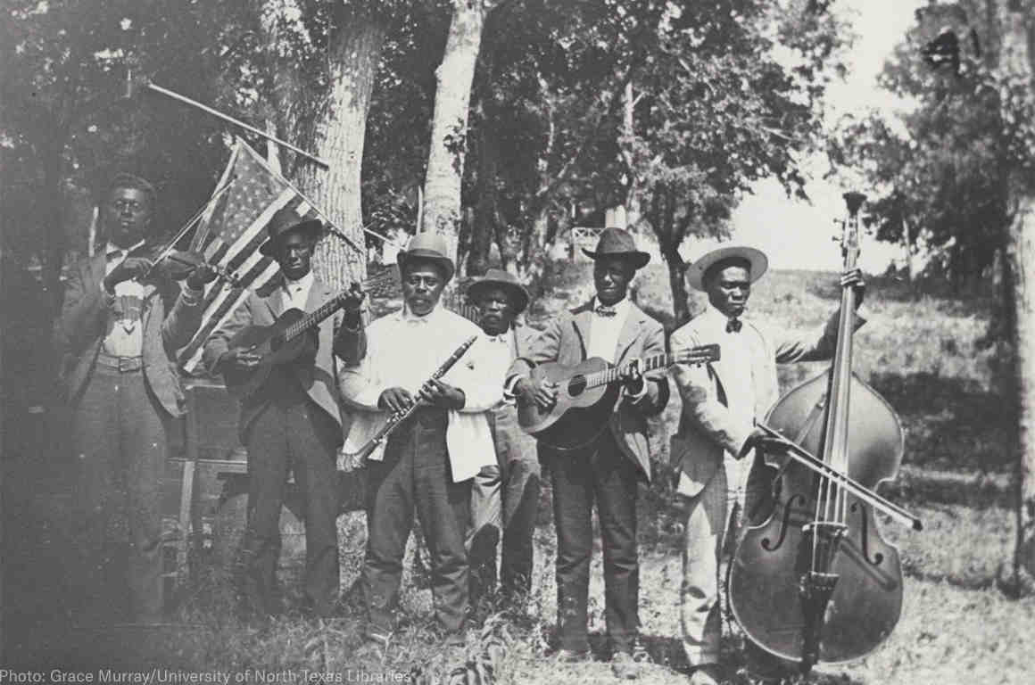 Emancipation Day Band, 1900