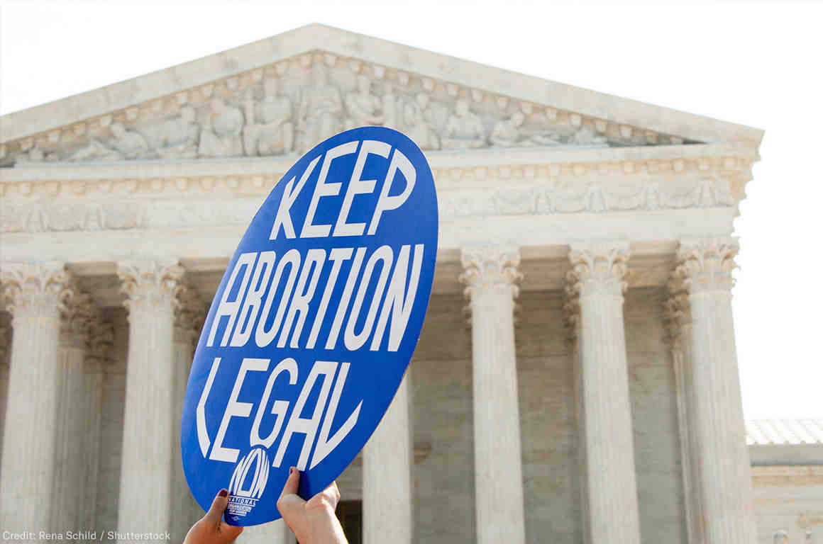 Keep Abortion Legal in front of Supreme Court