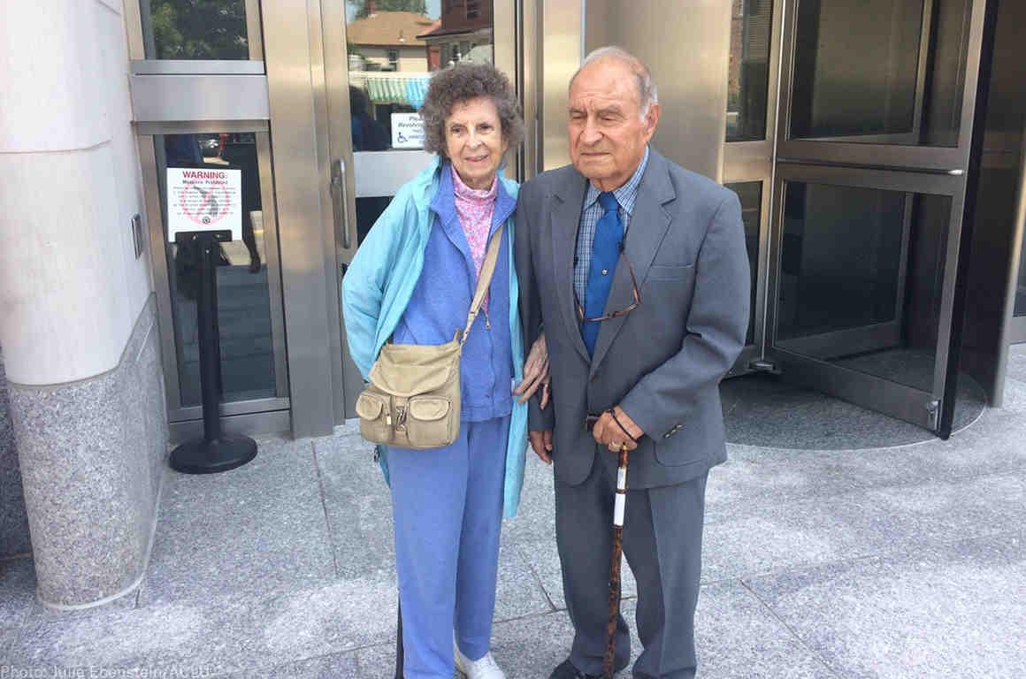 Plaintiffs Mary and Gus Saucedo