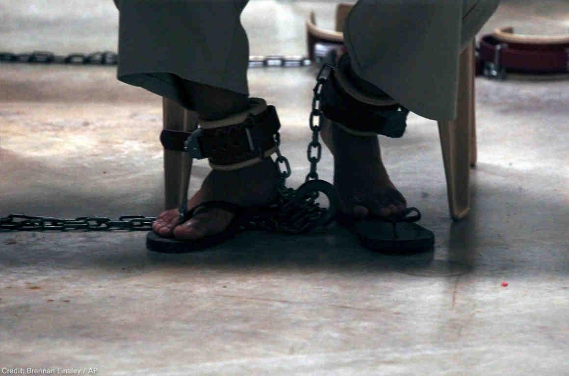 Prisoner Feet