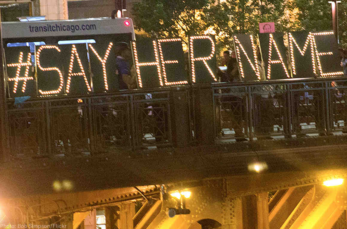 Say Her Name protest in Chicago