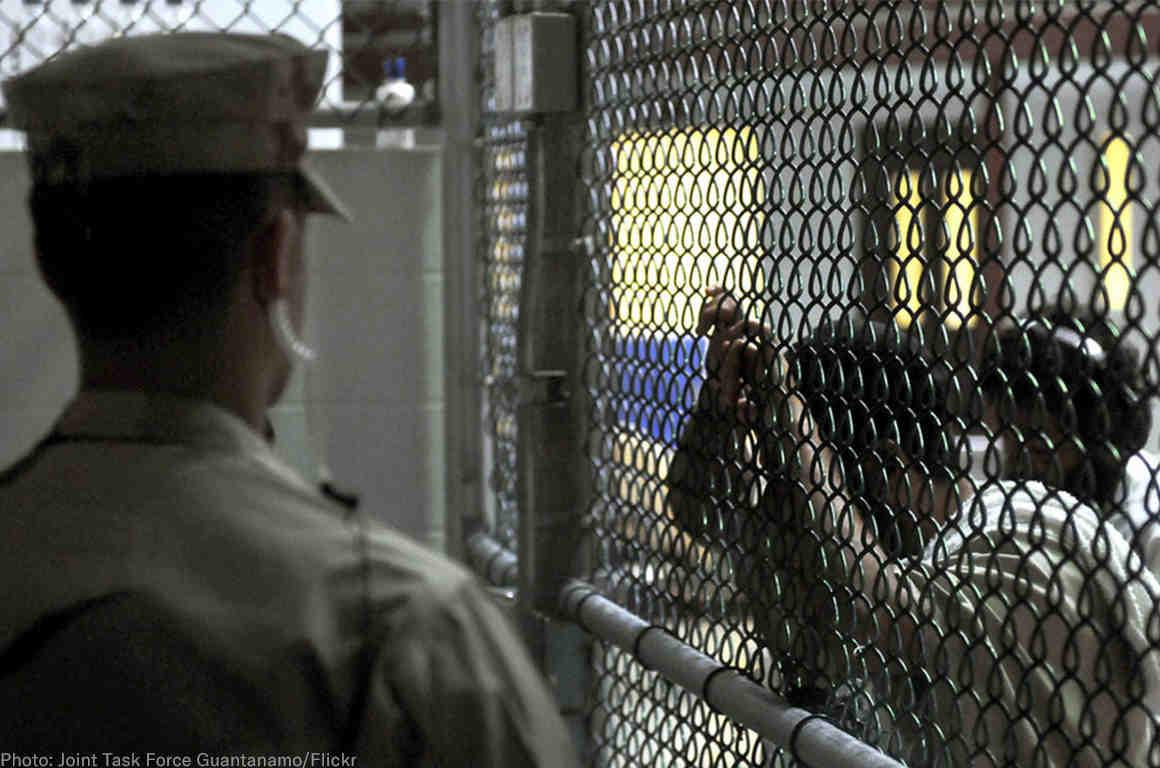 Fence at Guantanamo