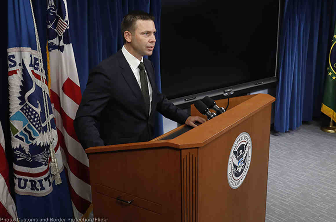Customs and Border Protection Commissioner Kevin K. McAleenan