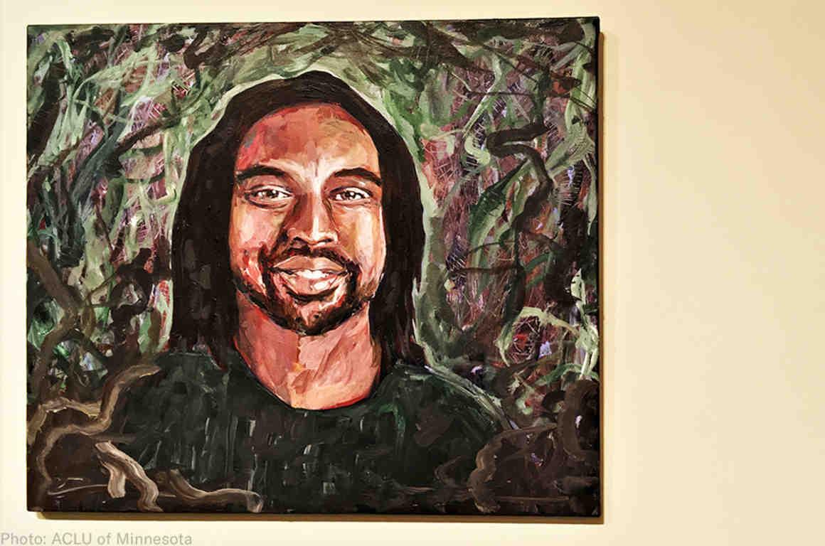 Painting of Philando Castile