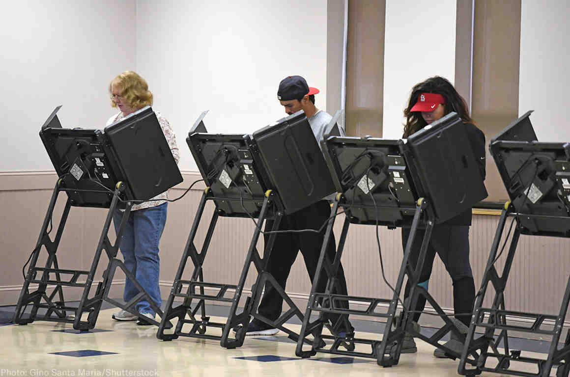 Voters in St. Louis county