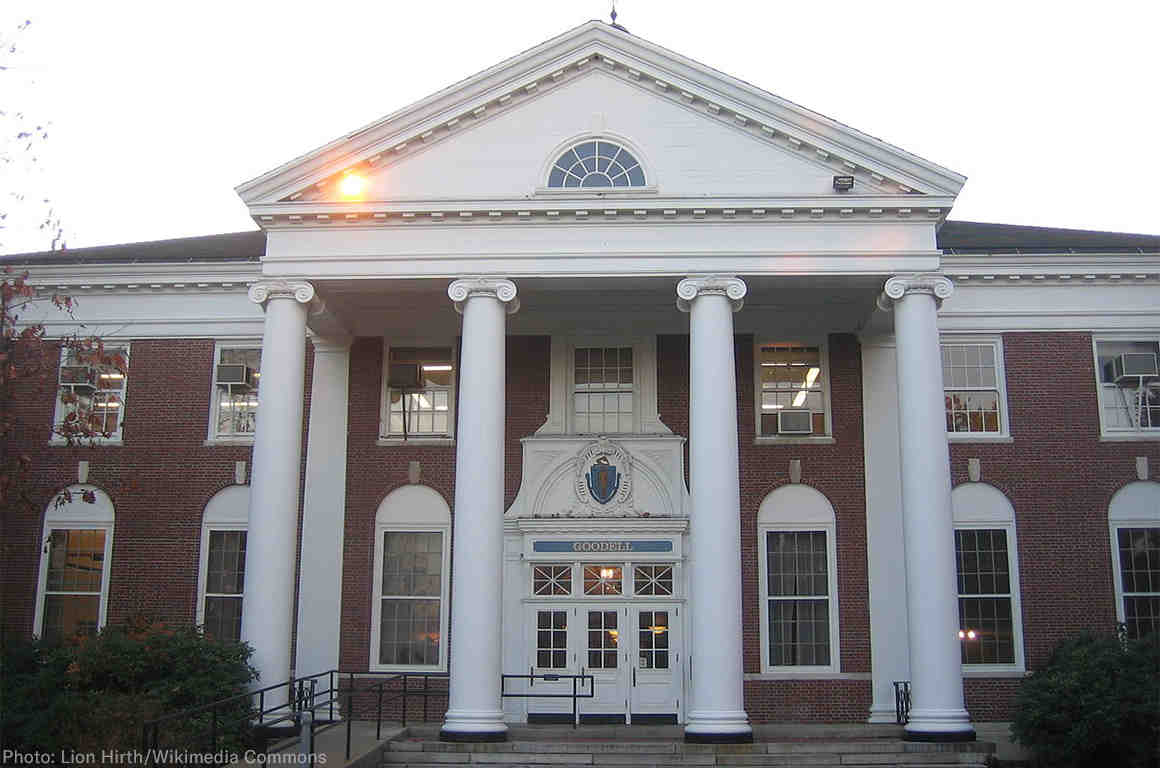 Goodell Hall at UMass Amherst