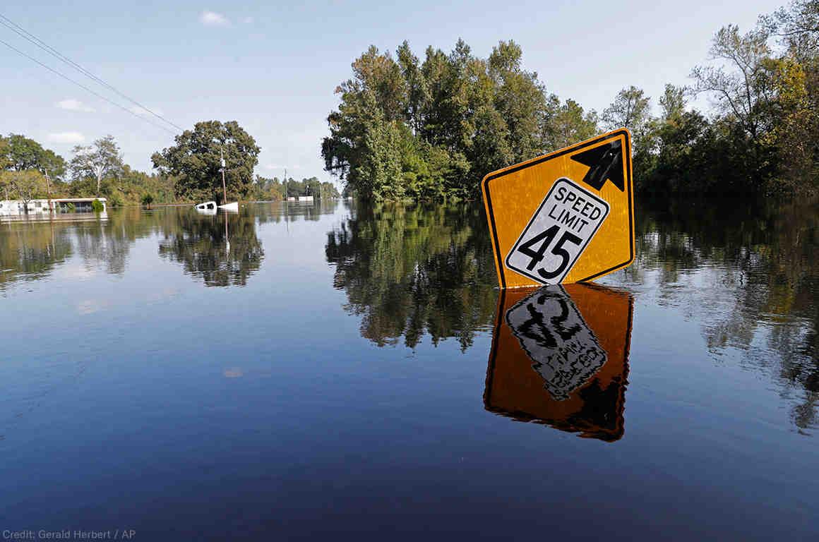 Flood Waters, Hurricane Florence