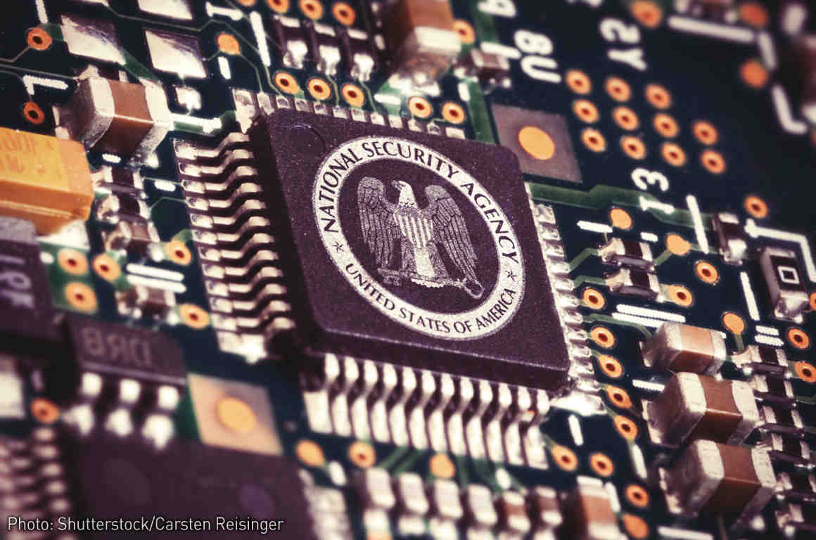 Section 215: NSA Computer Chip