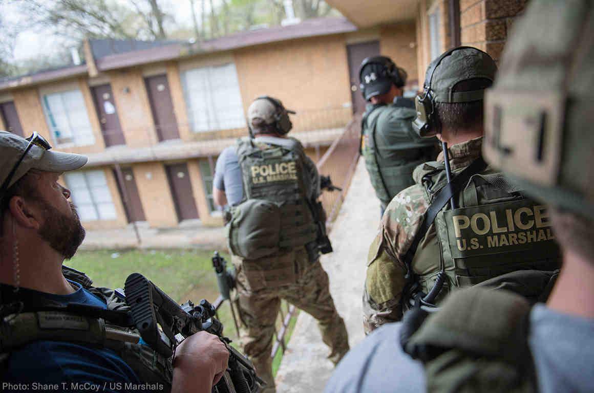 U.S. Marshal Raid