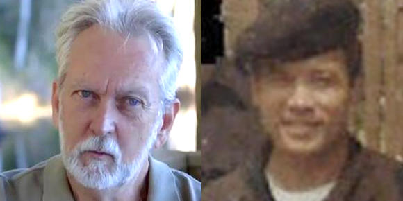 James Mitchell, left, and Bruce Jessen, right