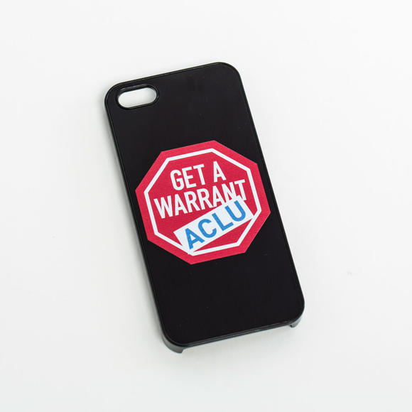 iPhone Cover: Get a Warrant