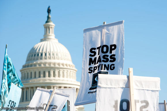 Stop Mass Spying; End Mass Surveillance