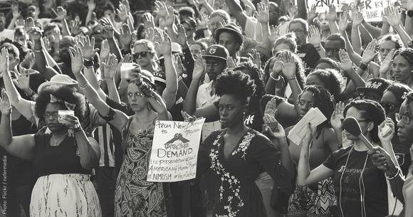 Ferguson Protest New Orleans