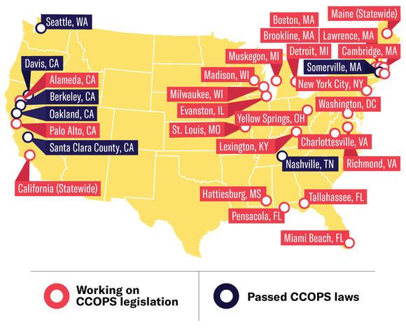 CCOPS Cities