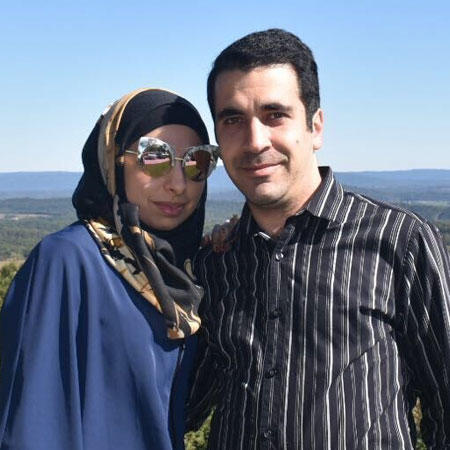 Mohamad and his wife