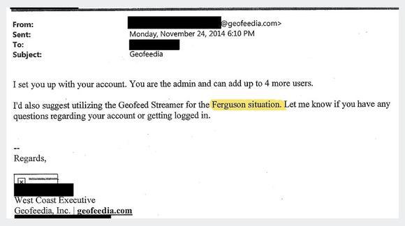 Geofreedia email 2