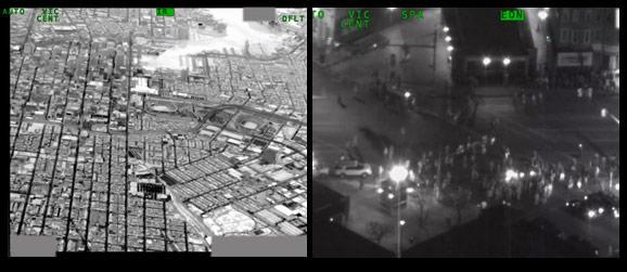 Baltimore Drone Footage - night