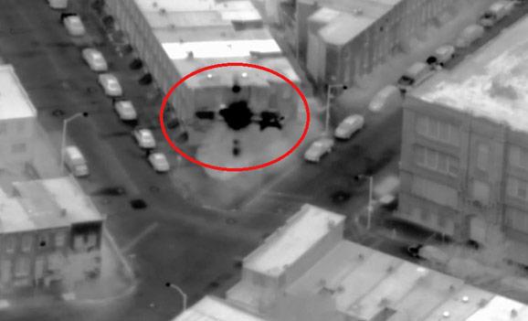Baltimore Drone Footage - targeting