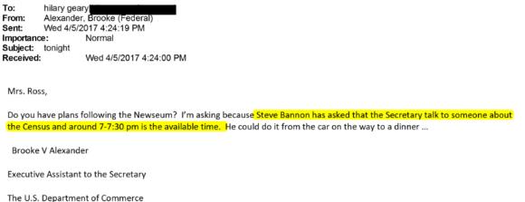 Redacted email
