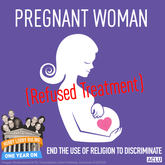 Pregnant Woman Refused Treatment