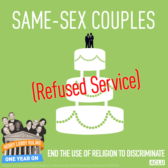 Same-Sex Couples Refused Service