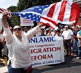 Immigration Reform parade