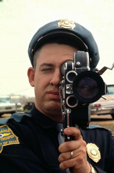 Trooper filming 1965 Selma march