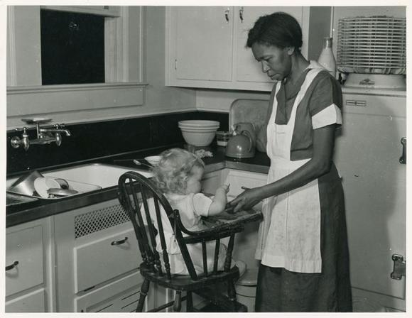 Black domestic servant in Atlanta, Georgia, May 1939