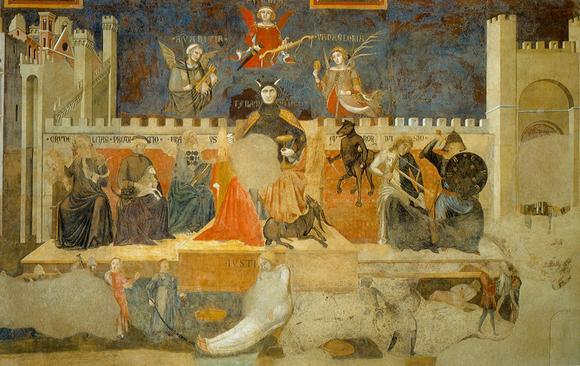 Ambrogio Lorenzetti Allegory of Bad Government