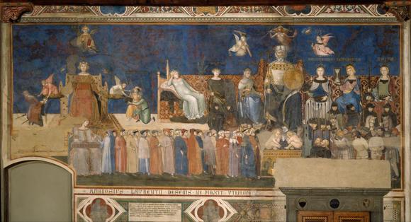 Ambrogio Lorenzetti Allegory of Good Government