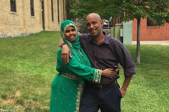 Sagal Abdigani and Abdisalam Wilwal