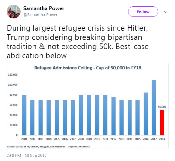 Samantha Power Tweet