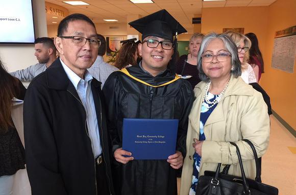 Timmy Graduation