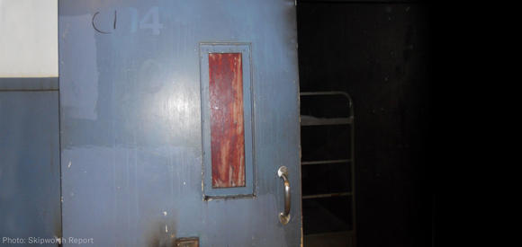 E. Mississippi Correctional Blood on the Door