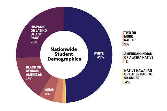 Nationwide student demographics