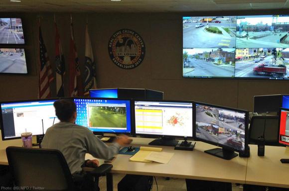 SLMPD's Real Time Crime Center