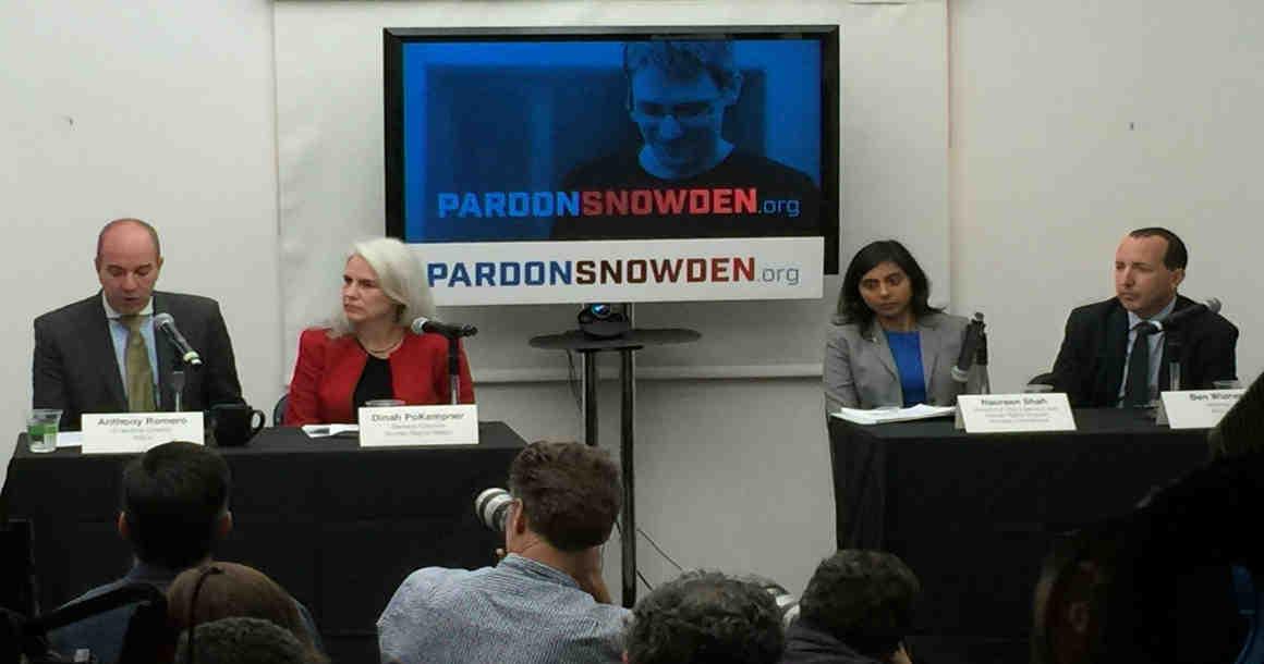 Pardon Snowden Presser