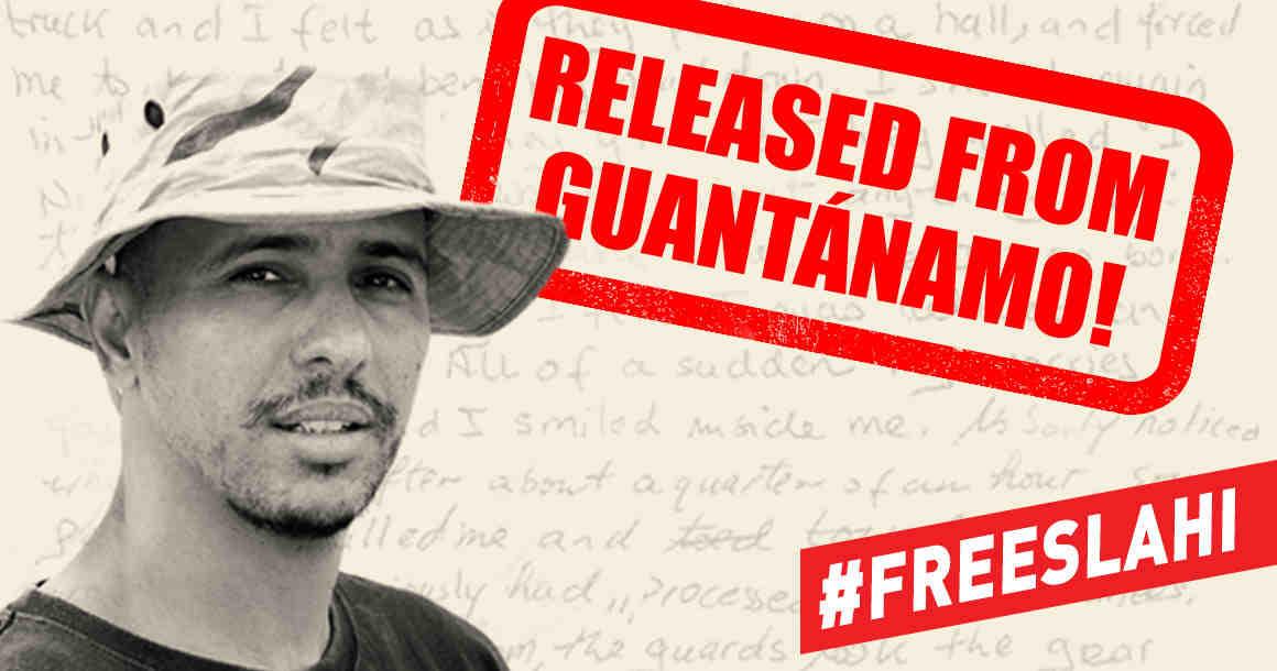 Mohamedou Slahi: Released from Guantanamo