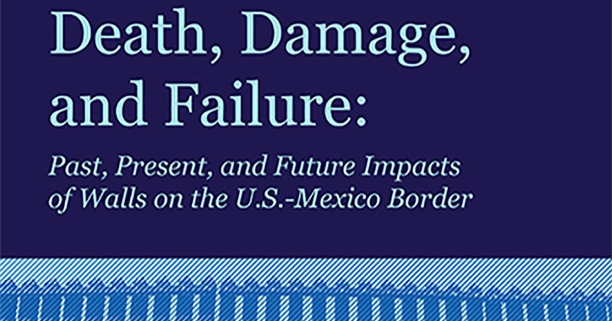 Death, Damage, and Failure   American Civil Liberties Union