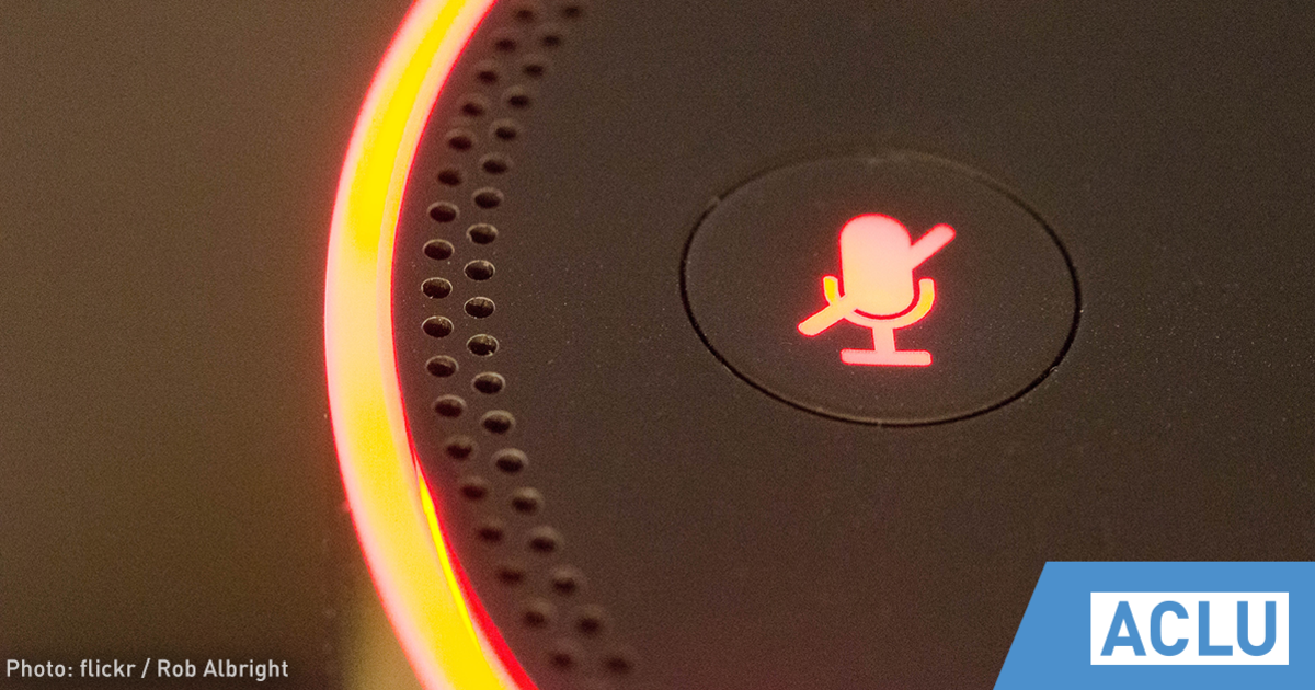 The Privacy Threat From Always-On Microphones Like the Amazon Echo