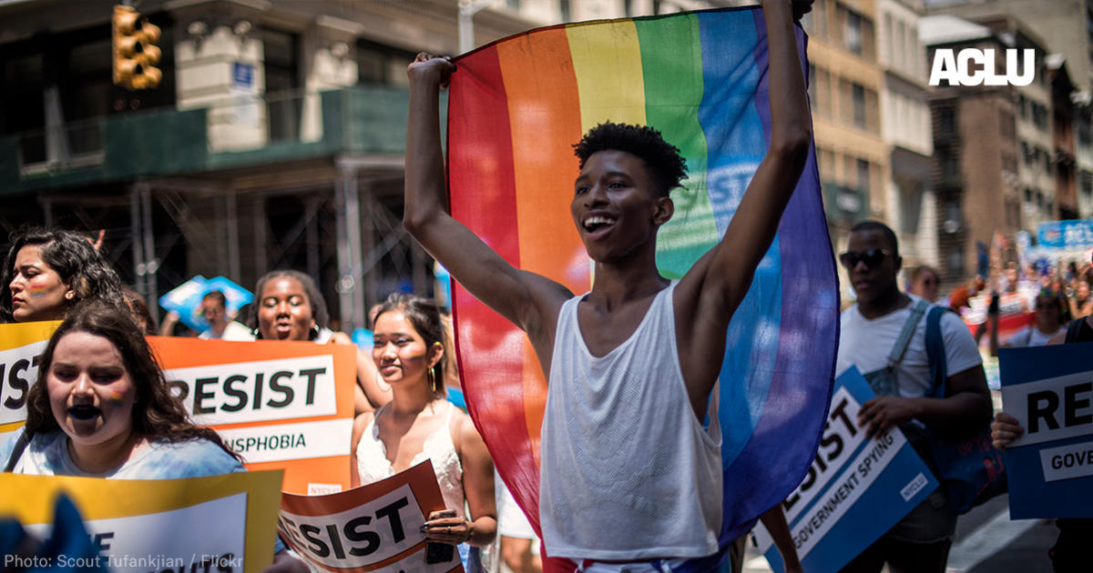 A Big Victory for LGBT People, and a Big Loss for the Trump Administration