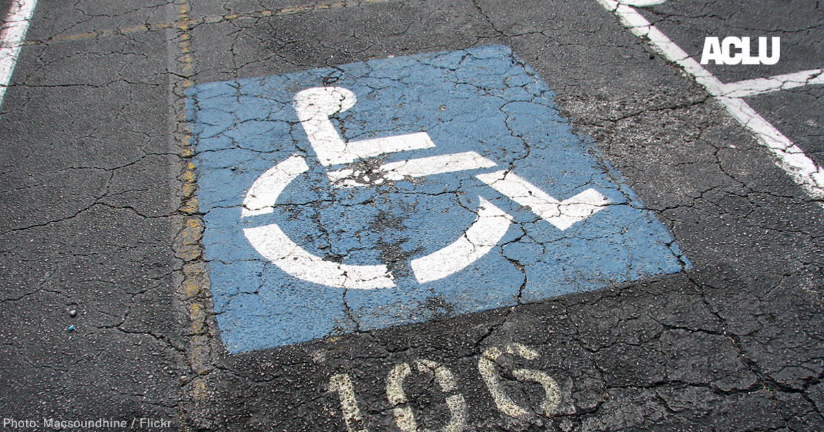 House Members Are Pushing a Bill That Will Roll Back the Rights of People With Disabilities