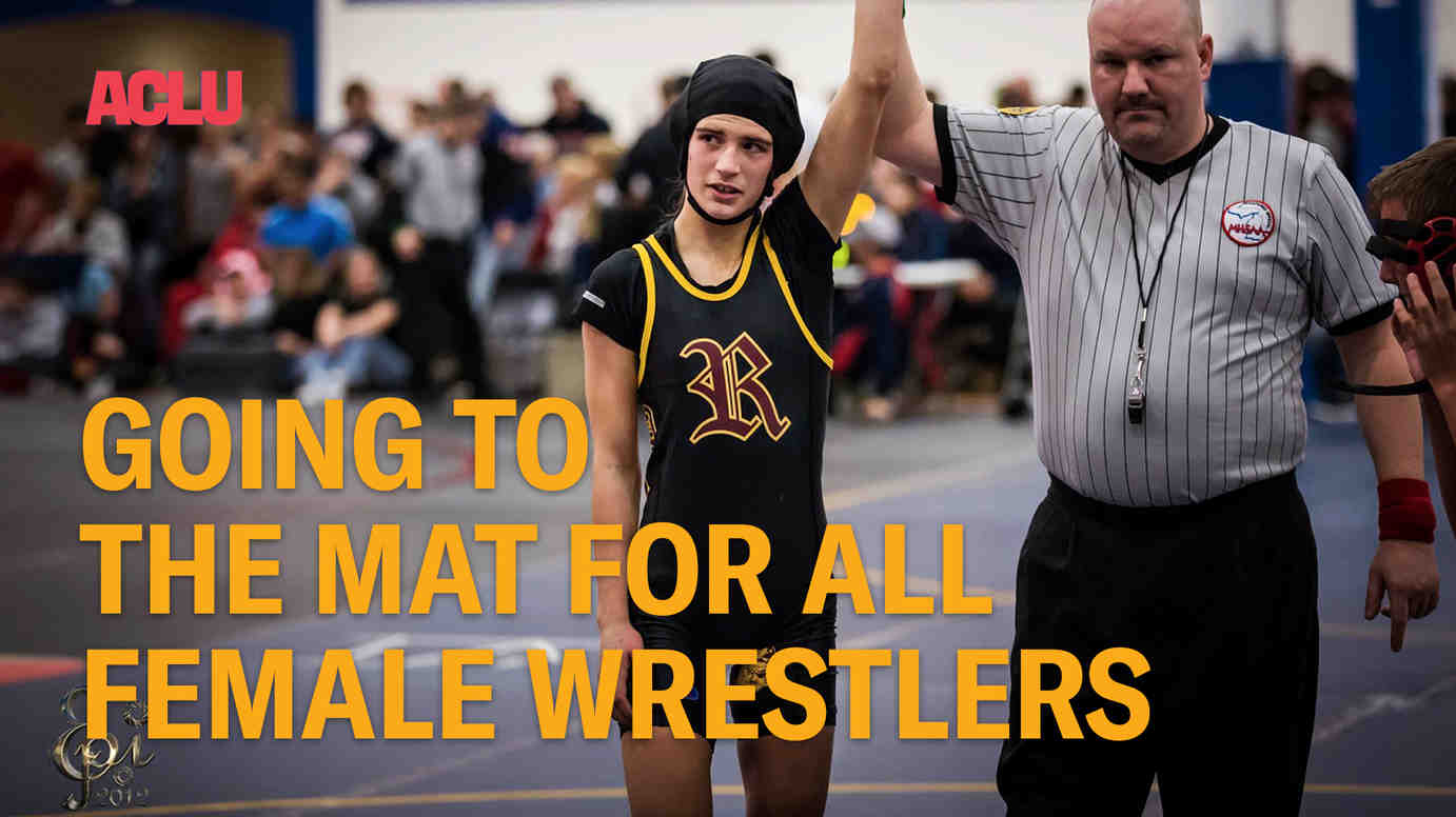 Going To The Mat For All Female Wrestlers