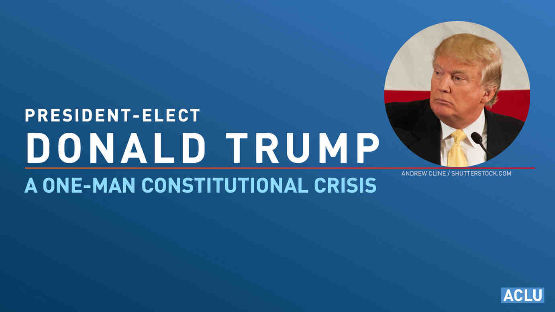 Trump Constitutional Crisis