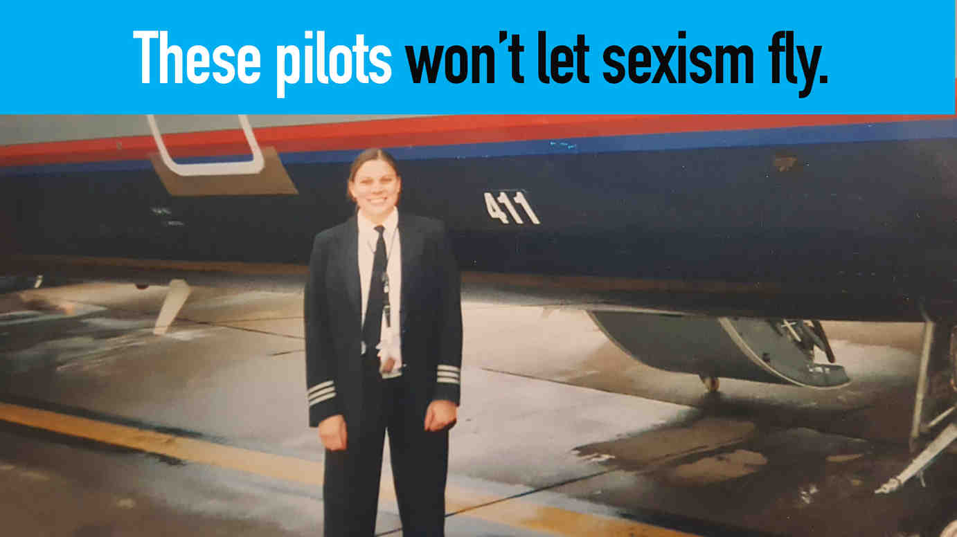 Watch: These pilots won't let sexism fly.