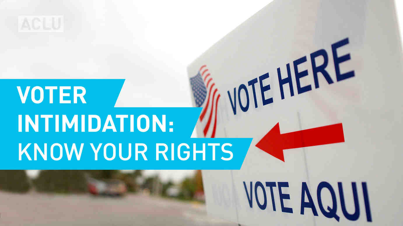 Voter Intimidation: Know Your Rights